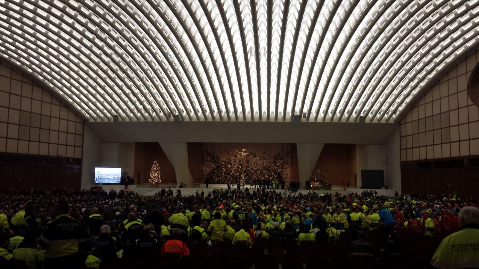 AGESCI - Udienza Santo Padre Servizio Nazionale Protezione Civile